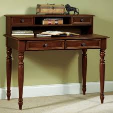 image of antique writing desk with hutch