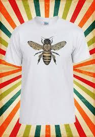 пчела рисунок мотылек насекомых татуировки смешные мужчины женщины жилет майка
