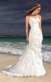 Beach Style Wedding Dresses 2013