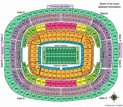 Fedex Field Seating Chart Fedex Field Seating Chart With Seat Numbers Climatejourney Org