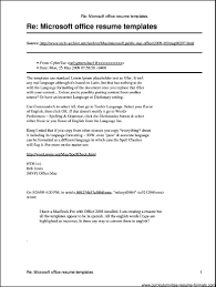 Cover Letter Resume Writing The Perfect Open Office Template Best