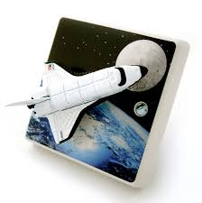 Space Themed Bedroom Space Rocket Light Switch For Space Themed Bedrooms By Candy Queen