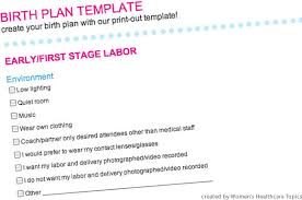 What Is A Birth Plan Example Prenatal Courses And Birth Plan Getting Ready For The Baby At