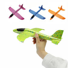 4PCS <b>35cm</b> Big Size <b>Hand Launch Throwing</b> Aircraft Airplane Glider ...