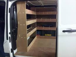cargo van shelving ideas cargo van storage ideas for