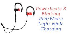 Beats Wireless Headphones White Light 4 Easy Solution Powerbeats 3 Blinking Red White Light While