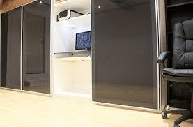 office in a wardrobe. Workspace Of The Week: Hidden In A Closet Office Wardrobe O