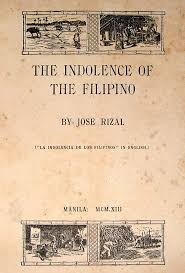 rizal s intellectual legacies in selected essays dimasalang  the indolence of the filipino tumblr mpykad8v4p1qifq8yo1 1280