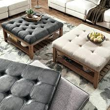 turn ottoman into coffee table dining ottoman coffee table large round leather big turn into tufted turn ottoman into coffee table