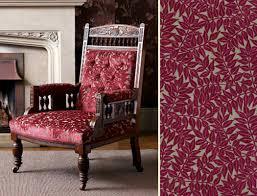 Patterned Velvet Upholstery Fabric