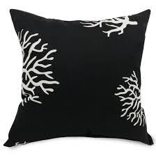 extra large throw pillows. Delighful Pillows Black Coral Extra Large Pillow To Throw Pillows R
