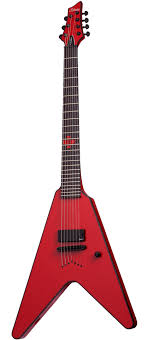 ones vidius other instruments worth noting schecter chris howorth signature itm v 7 electric guitar gloss red