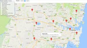 Creating A Store Locator On Google Maps Store Locator Solution