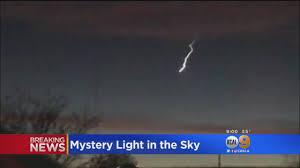 Light In La Sky Mysterious Light In The Sky Seen Across California Likely A Meteor