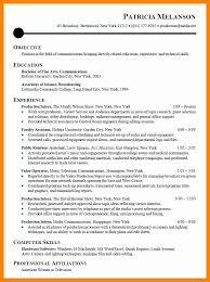 8 Sample Intern Resumes Sap Appeal Resume Doc Internship 17 Best