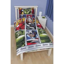 Marvel Bedroom Furniture Marvel Avengers Rotary Duvet Set Single At Wilkocom