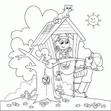 Summer Fun Printable Coloring Pages - Coloring Home