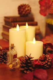 3 luminara candles