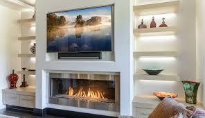 modern heaters ideas mantel mid inserts cent entertainment screens screen houzz tiles walls fireplace electric