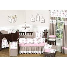 sweet jojo designs crib bedding sweet designs pink mod elephant 9 piece crib bedding set sweet
