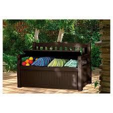 deck box storage bench outdoor storage