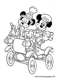 Mickey And Minnie In Their Wedding Disney Beca Coloring Pages Printable