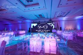 large screen for corporate event al