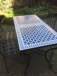 moroccan outdoor furniture. Outdoor Garden Furniture, Clapham:Two Beautiful Moroccan Tables And Chairs Furniture