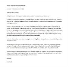 Personal Reference Letter 7 Recommendation Samples Templates
