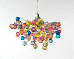 funky bedroom lighting. lighting hanging chandeliers with pastel bubbles for girls bedroom living room bathroom or dining funky o