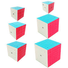 <b>QiYi</b> Rubbik Magic Cube <b>2x2x2 3x3x3 4x4x4</b> 5x5x5 6x6x6 7x7x7 ...