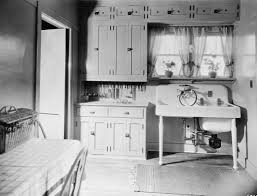at home kitchens farmhouse open kitchen living room vintage