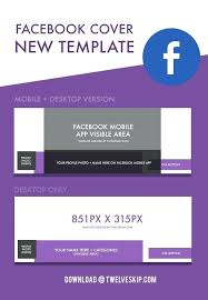 cover new template facebook profile picture size photo