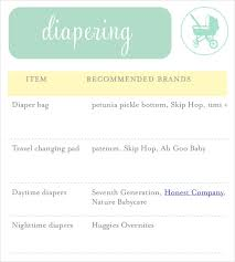 Sample Baby Shower Checklist Template. Baby Shower Checklist Samples ...