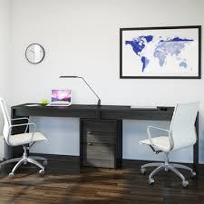 2 person desk. Nexera 400617 Sereni-T 2-Person Desk 2 Person X