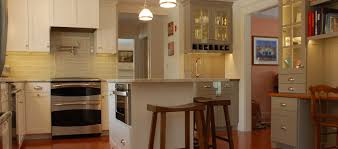 office wet bar. Compact Kitchen With Office Space \u0026 Wet Bar