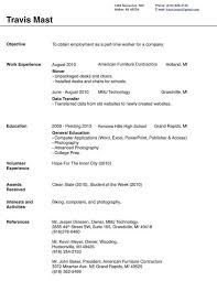 ... Resume Examples, Blank Resume Templates For Microsoft Word Resume Format  Like Word 2007 Resume Outline ...