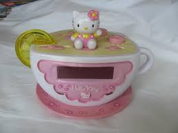 Hello Kitty Digital Am Fm Clock Radio With Night Light Upc 077283015502 Hello Kitty Digital Clock Radio With Am