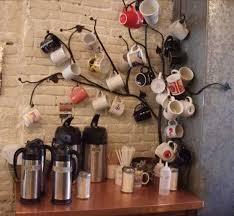tree branch design mug tree