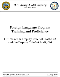 U S Army Audit Agency Service Ethics Progress Foreign