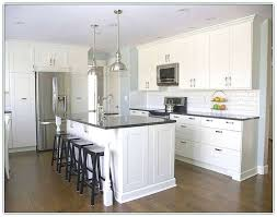 kitchen island overhang support countertop granite without