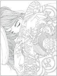 Mandala Art Coloring Pages Hard