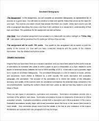 annotated bibliography sample example format  blank annotated bibliography papers template