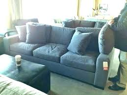 crate barrel sofa couch and leather plus 1 cr