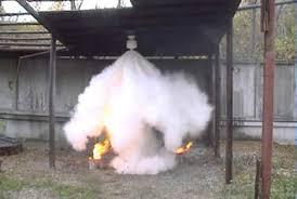 Порошковая система пожаротушения классификация устройство и  Процесс тушение пожара