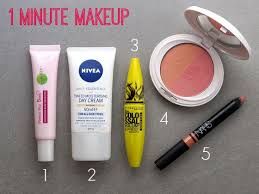 i m a big fan of a simple quick makeup routine for a cal