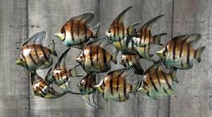 metal fish wall decoration on fish wall art metal with second life marketplace metal fish wall decoration