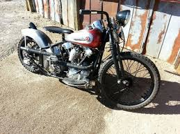 1942 harley davidson el knucklehead old school period bobber hill