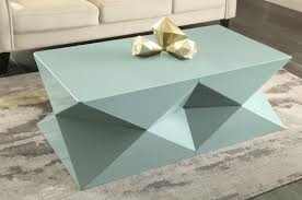 view in gallery geo objects top a contemporary coffee table