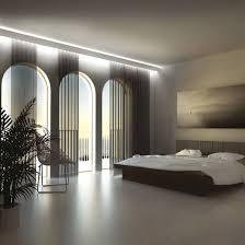 Linear Interior Design Eleni Lighting El802 Large Curved Led Linear Profile Cornice